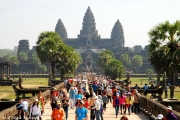 Angkor is packed every day