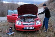 The battery died in Karabuk but we are well prepared!