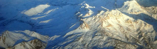 Mt. Berit From the Air